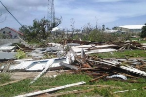 Aftermath of Cyclone Ian