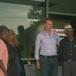 Yanyi, Bess, Nigel and Djiniyini at ARDS Opening