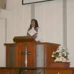 Rev Thresi's sermon