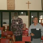 Rev Rronang and Frits Momuat